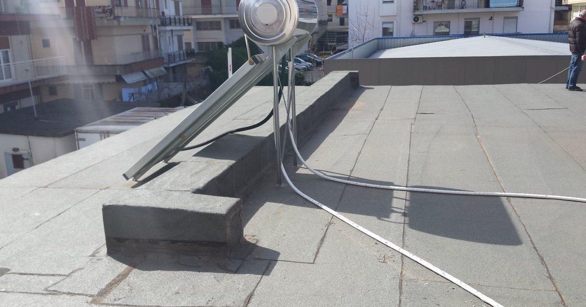 Διόρθωση κλίσεων - Υγρομόνωση ταράτσας -Ιωάννινα - Welcome Stores